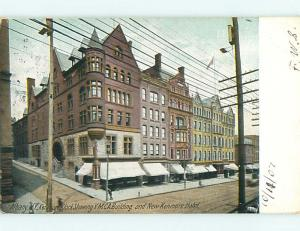 Pre-1907 YMCA & NEW KENMORE HOTEL Albany New York NY t2075