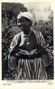 Jeune Mauresque Arab Nude Old Vintage Antique Post Card