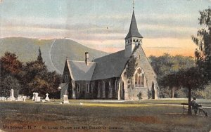St Luke's Church in Matteawan, New York