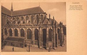 Netherlands Dordrecht Groote Kerk Koor Kapellenkrans Zuid en Oostzijde Postcard