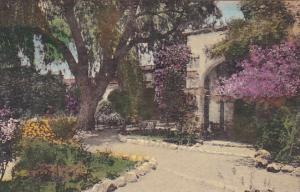 Front Mission Gardens Old Chapel Arches Old Mission San Juan Capistrano Calif...