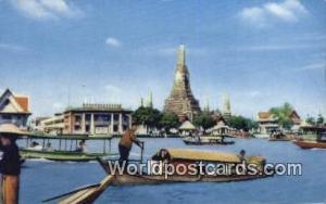 Dhonburi Thailand Wat Arun  Wat Arun