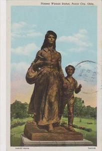 Oklahoma Ponca City Pioneer Woman Statue