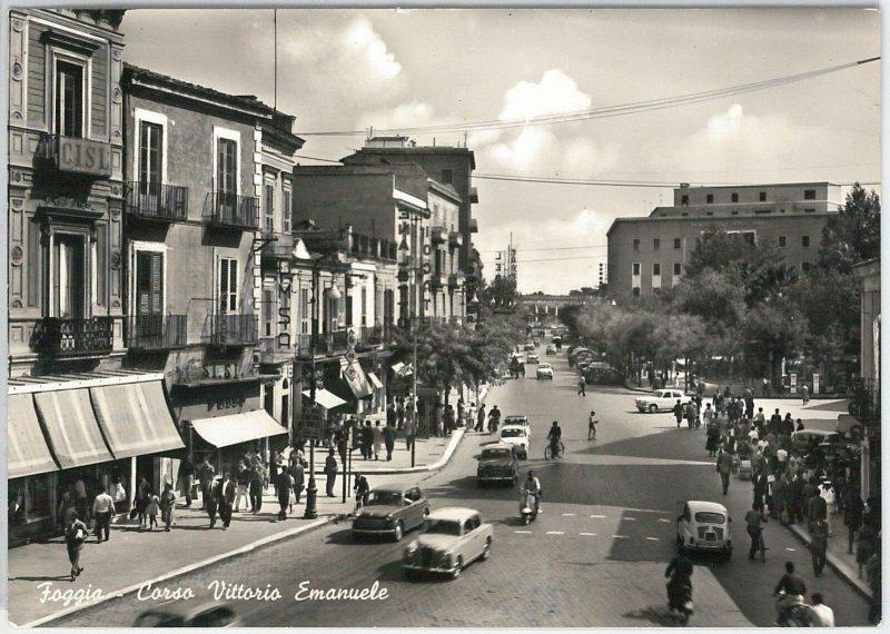 49725  CARTOLINA d'Epoca - FOGGIA citta' : Corso V Emanuele 1964
