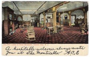 Atlantic City, N.J., The New Lobby of Hotel Monticello