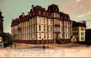 Pennsylvania Philadelphia Girls High School 1906 Rotograph