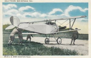 SAN ANTONIO, TX, 00-10s ; Kelly Fields, Airplane, On A U.S. Army Avaition Field