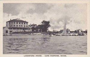 Maine Cape Porpoise Langsford House Albertype