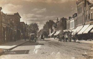 RP: CHILLICOTHE , Illinois, 1912 , Main Street