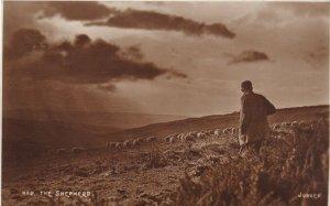 RP: ENGLAND, PU-1938; The Shepherd, #499 Judges Ltd. Hastings