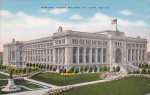 Municipal Courts Building Saint Louis Missour