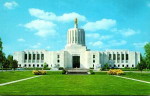 Oregon Salem State Capitol Building