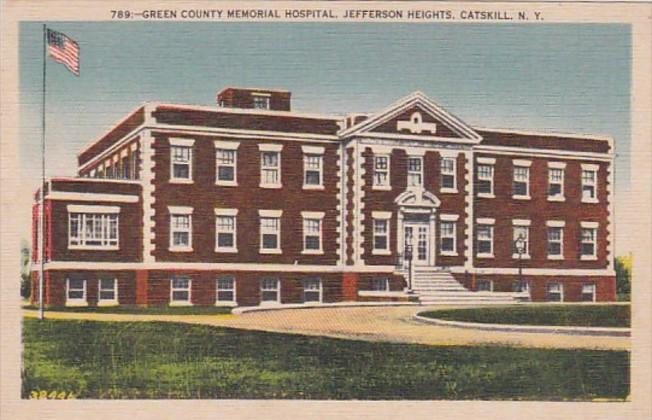New York Catskills Jefferson Heights Green County Memorial Hospital