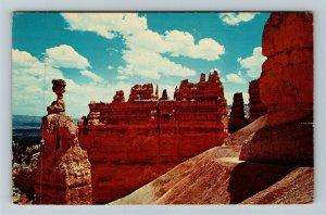 Bryce UT- Utah, Bryce Canyon National Park, Mountains, Chrome c1971 Postcard