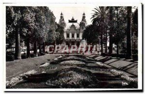Old Postcard Monte Carlo casino