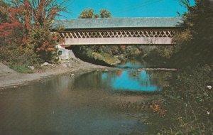 Middle Covered Bridge - Woodstock VT, Vermont
