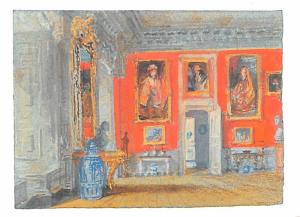 JMW Turner - Petworth the Red Room