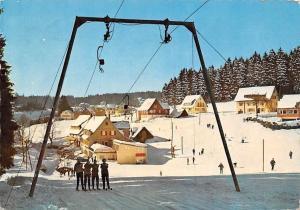 Kniebis Schwarzwald, Gasthof und Pension Waldhorn Chairlift Ski Winter