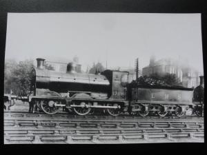 LMS Steam Locomotive No.17596 at Dundee - London Midland & Scottish RP Photocard