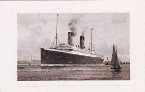 Ship/Steamer/Oceanliner, Cunard R.M.S. Franconia, 1900-1910s