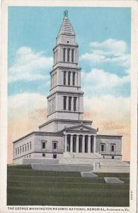 Virginia Alexandria The George Washington Masonic National Memorial Curteich