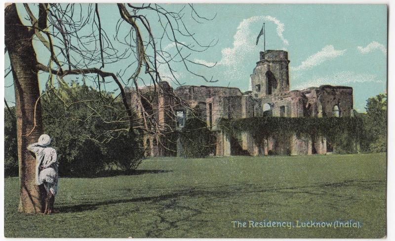 India; The Residency, Lucknow PPC Unposted, By Shurey's, c 1910's