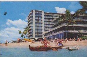 Hawaii Waikiki The Reef Hotel On The Beach At Waikiki