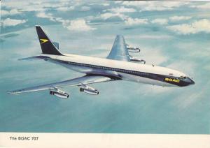 BOAC 707 Jet Airplane , 50-60s