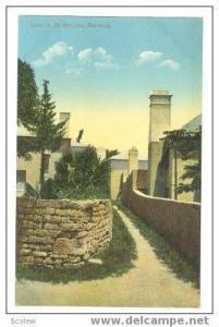 Lane in St Georges, Bermuda 00-10s