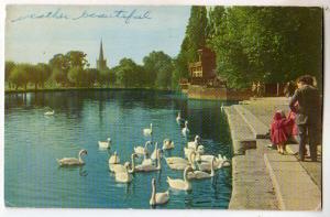The Avon, Holy Trinity Church, Stratford-Upon-Avon