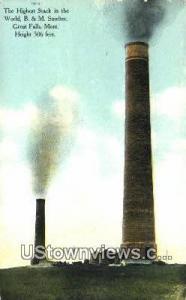 B & M Smelter Great Falls MT Unused