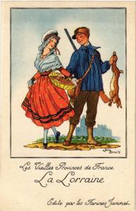CPA Les Vieilles Provices de France - La Lorraine (477927)