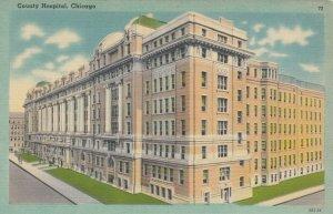 CHICAGO, Illinois, 30-40s; County Hospital