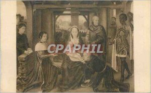 Postcard Old Bruges Hopital Saint John Adoration of the Magi