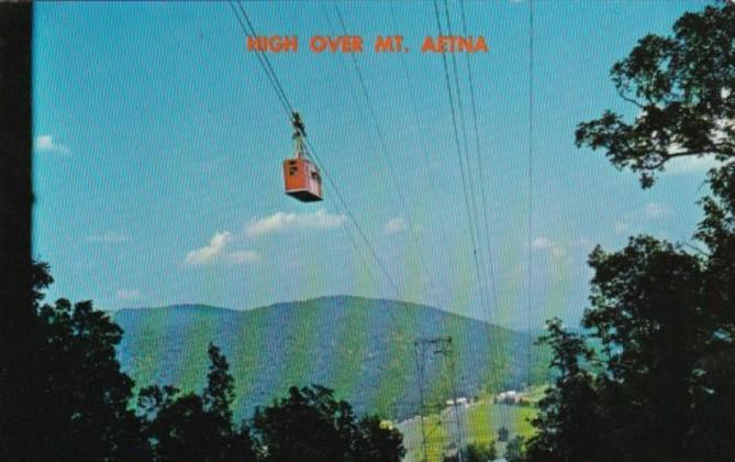Mount Aetna Skyride Tram Chattanooga Tennessee