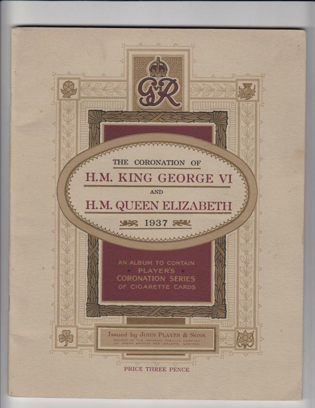 Booklet ; Coronation of King George VI , 1937