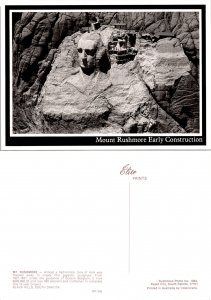 Mount Rushmore Early Construction (10357)