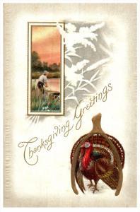 Thanksgiviing  Turkey  and Wishbone