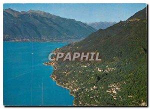 Postcard Modern Gambarogno Lago Maggiore