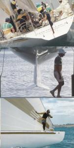 Australia II Boat Race 3x Racing Australian 1980s Postcard s