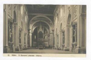 RP  Roma, Italy, 00-10s  S Giovanni Laterano - Interno