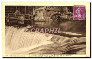 Old Postcard Bourg Sirod Barrace and Entree Du Tunnel Capture