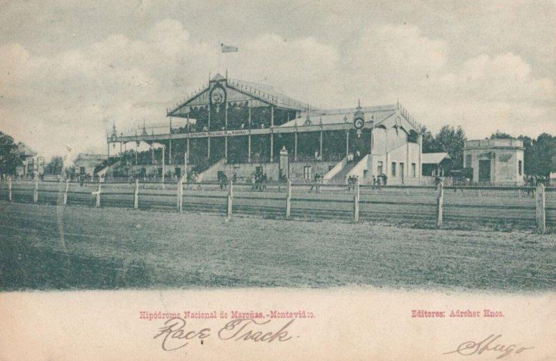 MONTEVIDEO , 1900-10s ; Hipodrome Nactional de Maronas