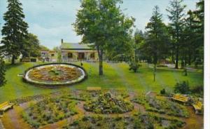 Canada Floral Clock In Riverside Park Guelph Ontario