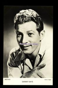 b6425 - Film Actor - Danny Kaye - R.K.O.Radio - plain back - postcard