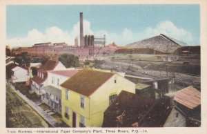 TROIS-RIVIERAS , Quebec , Canada , 1930s ; St Lawrence Paper Mills
