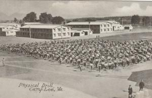 CAMP LEE, Virginia, 1910-20s; Physical Drill