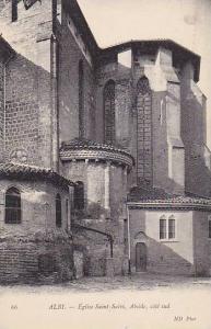 Eglise Saint-Salvi, Abside, Cote Sud, Albi (Tarn), France, 1900-1910s