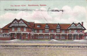 Kansas Hutchinson The Bisonte Hotel 1910