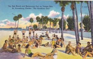 Florida St Petersburg Spa Beach and Recreation Pier